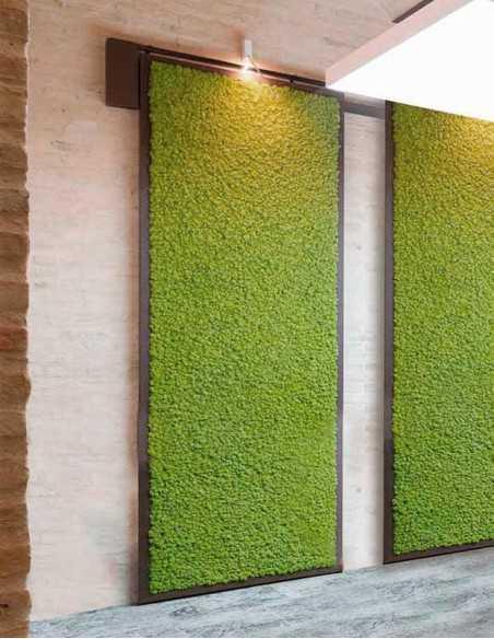 Jardines verticales de musgo